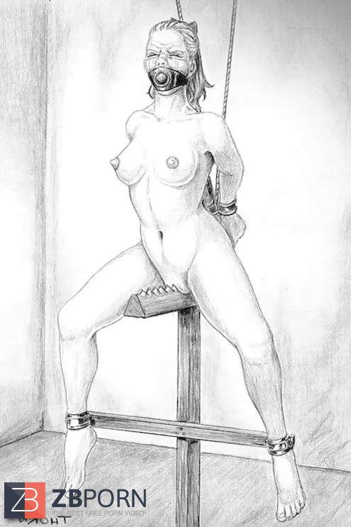 lynn paula russell spanking drawings