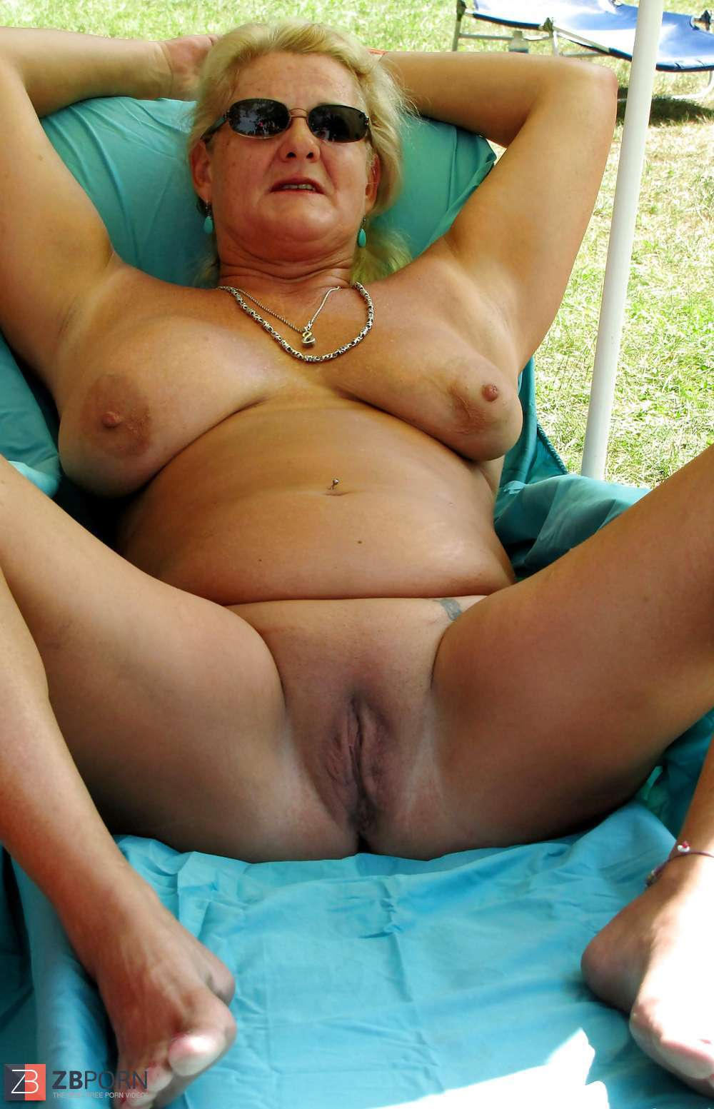 Fat granny nude beach final