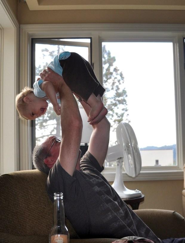 Cecito loved the baby whisperer.