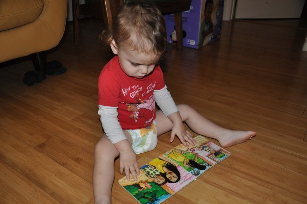 "Cecito loved his Three Little Birds book, too! We now listen to Bob Marley for the ""Gonna Be Alright"" song all the time. Thanks Bi-Nana!"