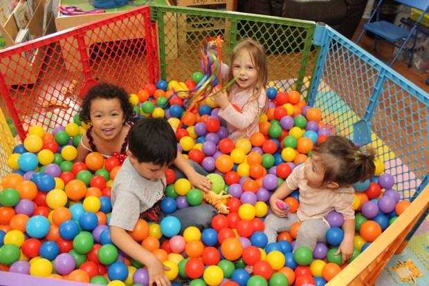 Ball Pit Fun!