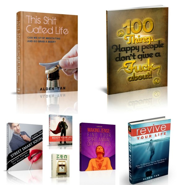 all books collage