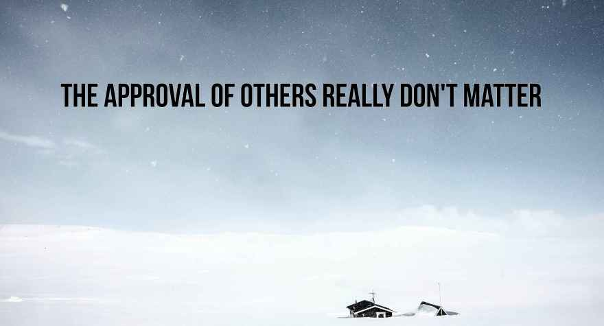 approval of others