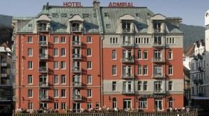 Hotel Admiral Facade