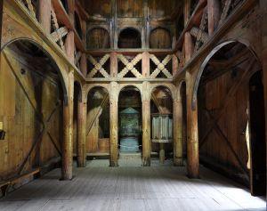 Borgund stavkirke inde stor