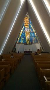 Ishavskatedralen inde