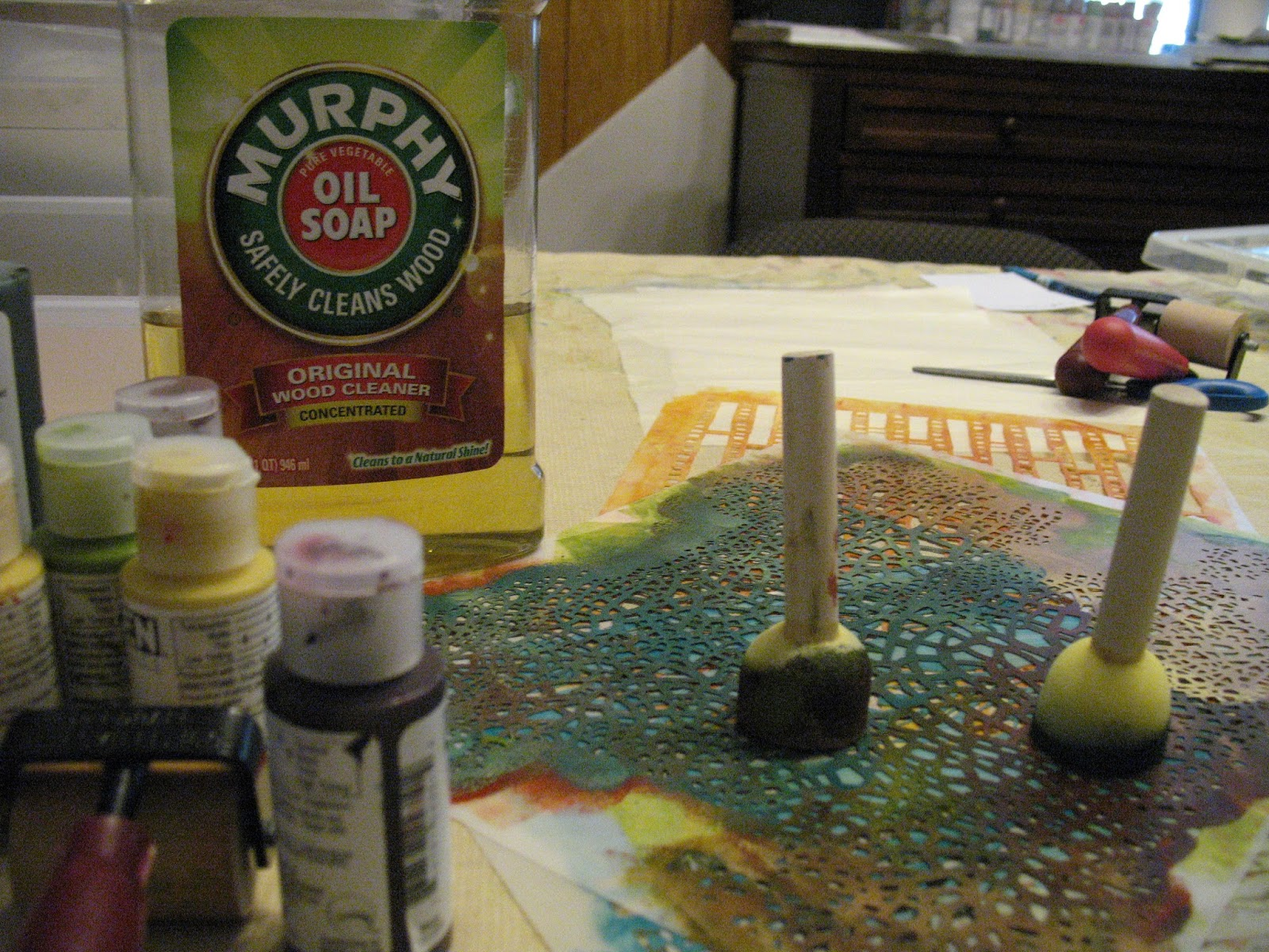 Reputable Some Hot Water Is All That It Takes To Clean Up Soap Is Pure Vegetable I Murphy Oil Use It To Clean My Paintbrushes Cleaning Stencils Aleta houzz 01 Murphys Oil Soap Uses