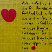 Liham Para sa Loveless on Valentine's Day Tulad Ko