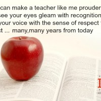 Letter of Teacher to Graduates