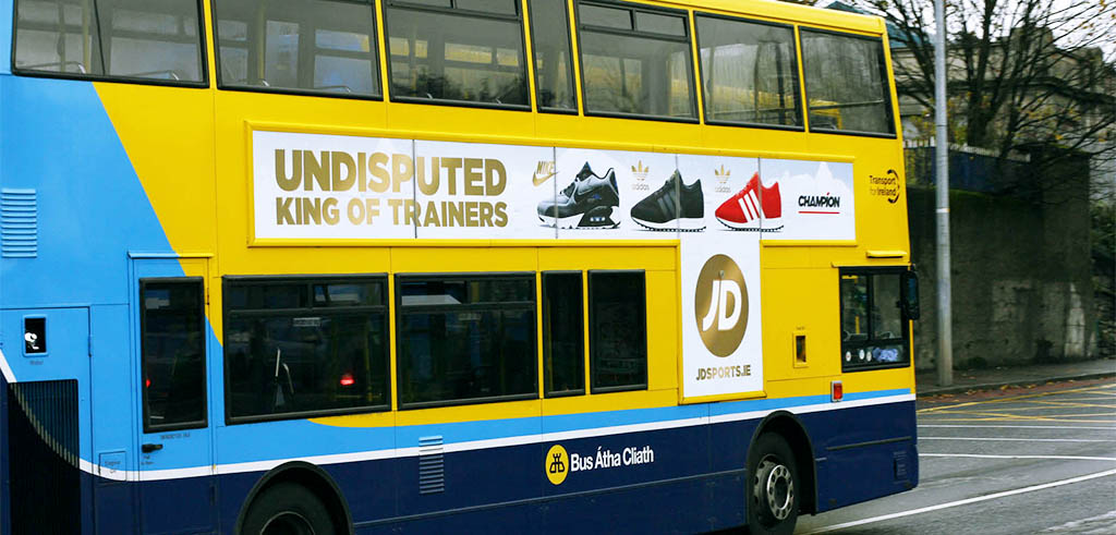 Dublin Bus T Side Poster