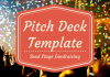 Pitch deck template startups investment