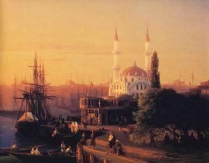 766px-Ivan_Constantinovich_Aivazovsky_-_Constantinople_(detail)