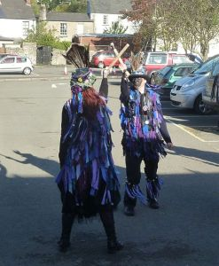 Widders Border Morris side. Photo by http://commons.wikimedia.org/wiki/User:Andy_Dingley