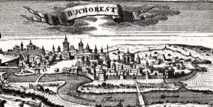 early-18th-century-wood-cutout-of-bucharest-romania