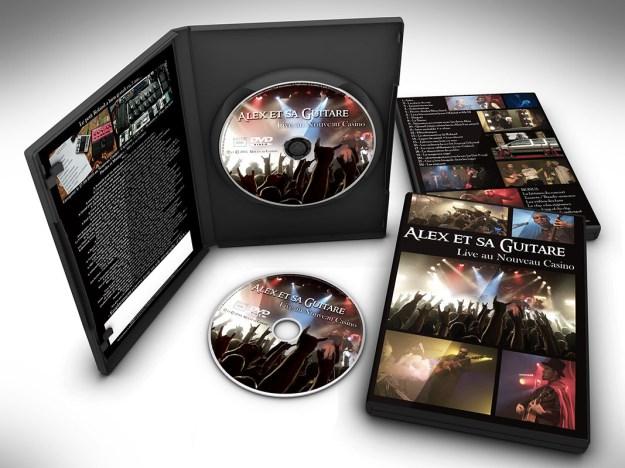 mockup dvd nouveau caz complet