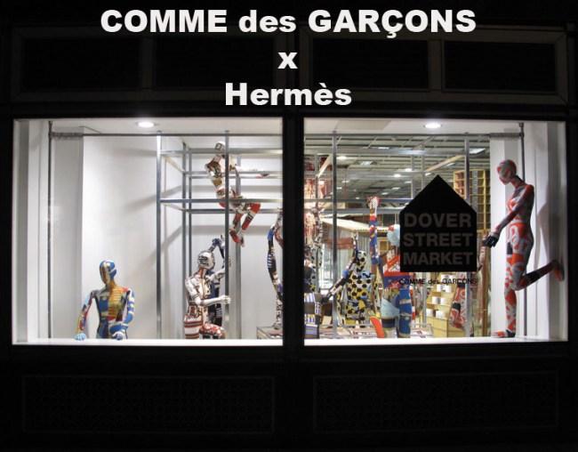 COMME DES GARÇONS X Hermès