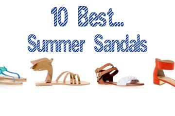 10 best summer sandals 2
