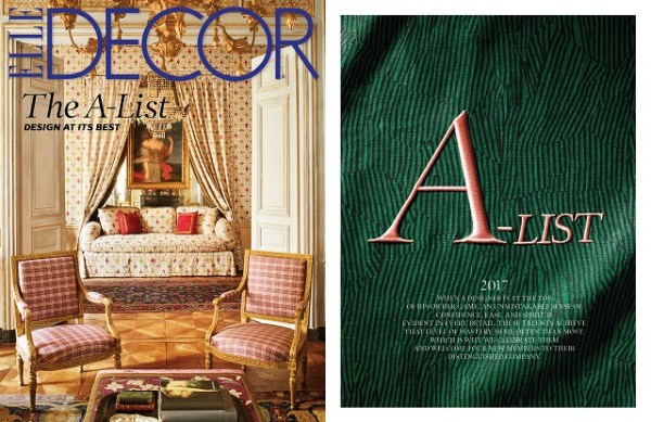 Alex Papachristidis Named To Elle Decor A-List 2017
