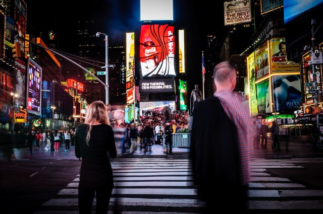 Ghosts of Times Square NYC Photo