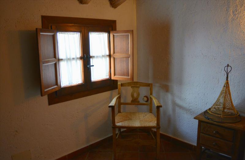 Detalle dormitorio Carrihuela Amarilla Casa Rural