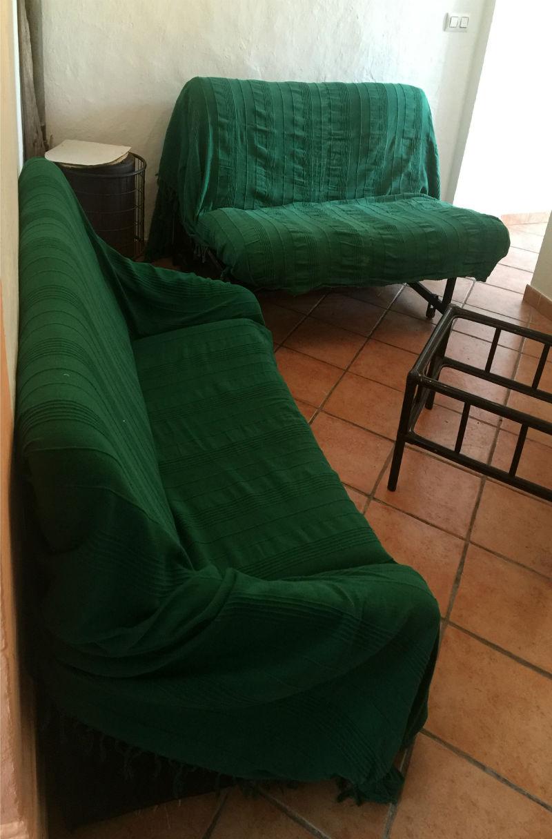 Detalle salita casa rural Pitillas