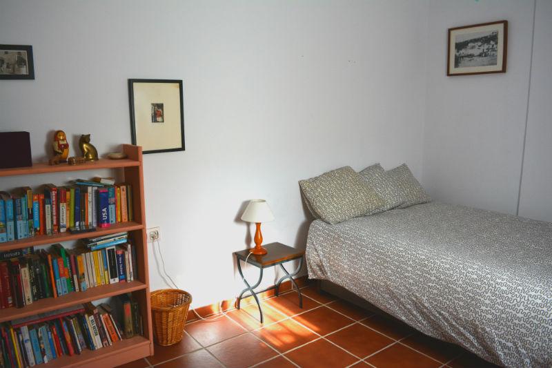 Dormitorio indivisual Villa Madrigueras Casa Rural