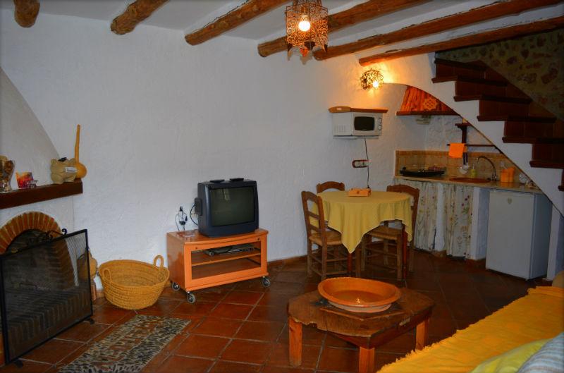 Sala de estar Carrihuela Amarilla Casa Rural