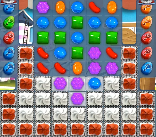 nivel 241 de Candy Crush Saga