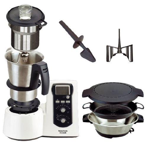 Taurus mycook 923001 un robot de cocina m s barato que - Que hace un robot de cocina ...