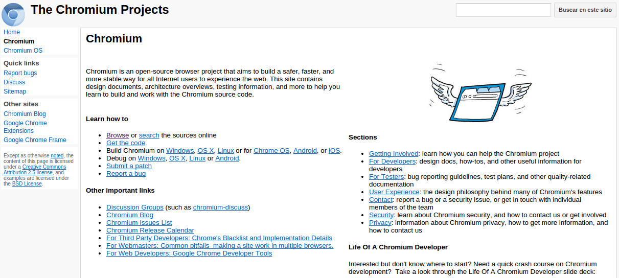 chromium - Linux 10 programas imprescindibles [2015]