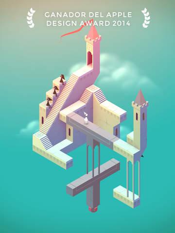 mejores juegos para el iPad en 2015: monument valley