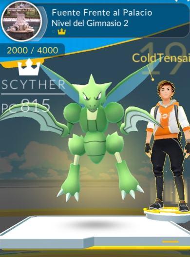 Gimnasios Pokemon go El Capricho en Madrid España