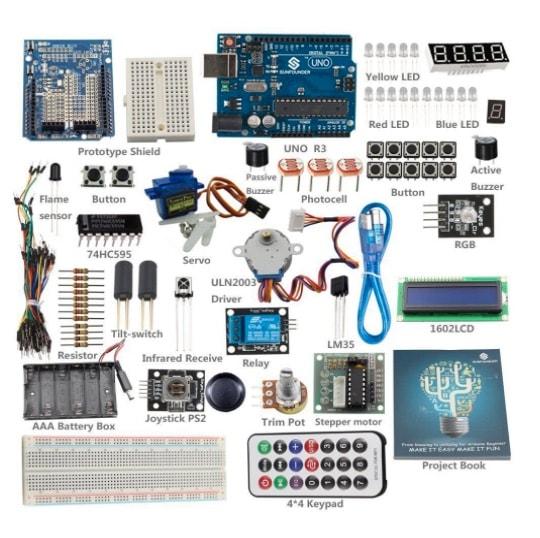¡oferta sunfounder starter learning kit para arduino