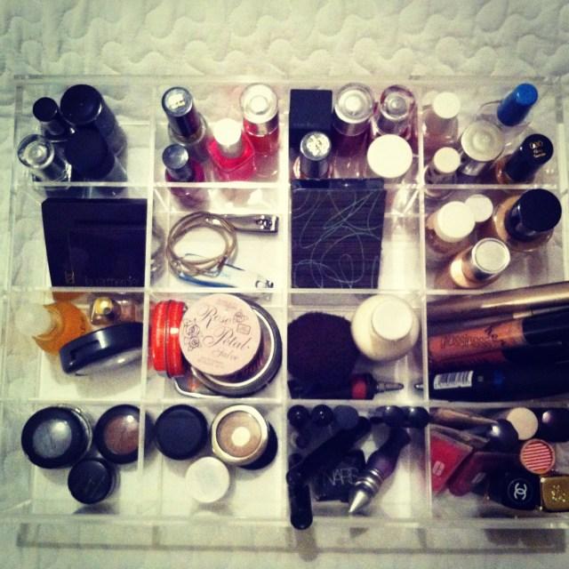 Muji Acrylic Organiser