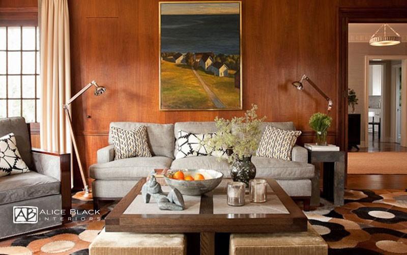 Livingroom by Greenwich Interior Designer Alice Blac
