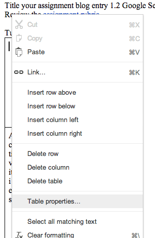 how to put a border in google docs