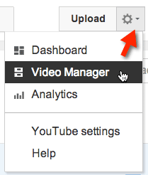 upload video manager