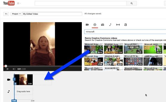 Drag YouTube Timeline