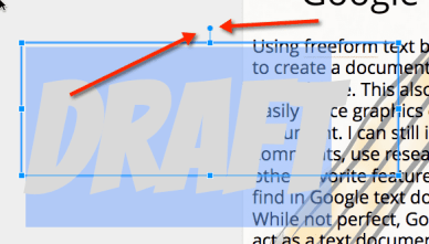google docs how to change background of text
