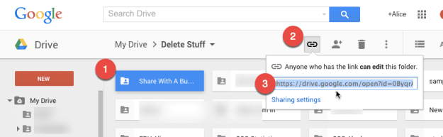how to collaborate use google drive