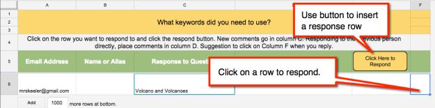 Response Button