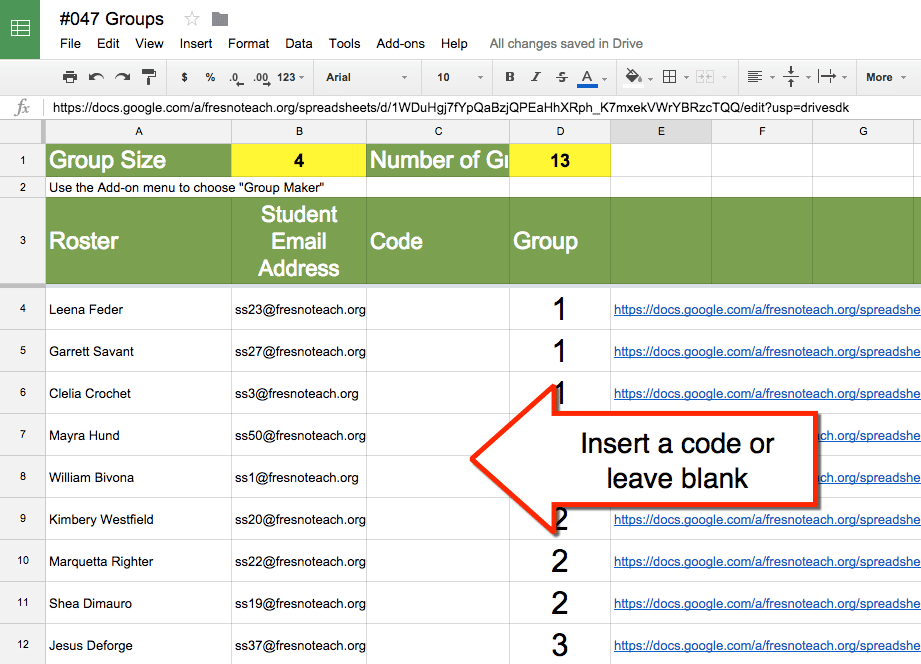 how to create a google group email