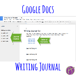 Google Docs Writing Journal