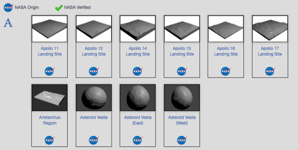 NASA printables