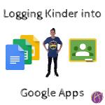 logging kinder into google apps kindergarten