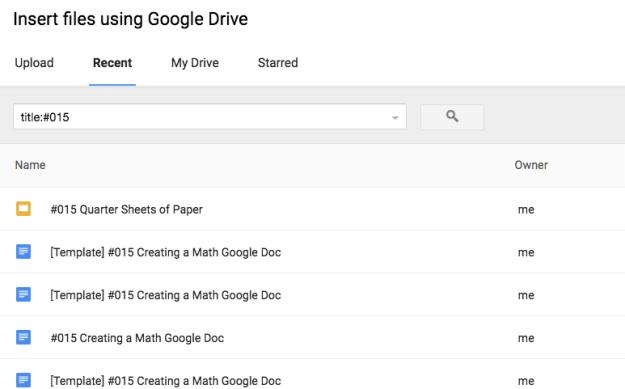 google classroom title