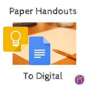 Paper handouts