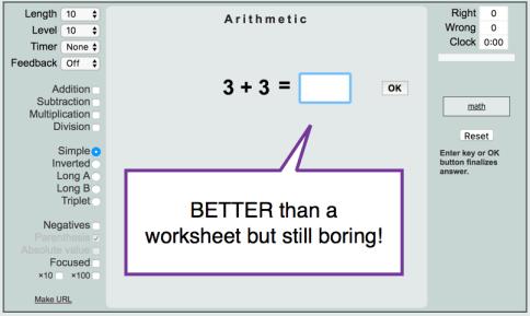 thatquiz better than a worksheet