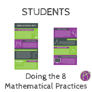 8 Mathematical Standards: Students Should Be Doing Them