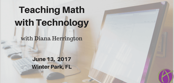 Diana Herrington teach math with tech